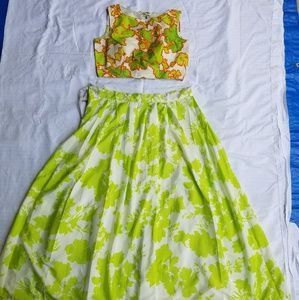 Crop top with skirt... Indian clothing